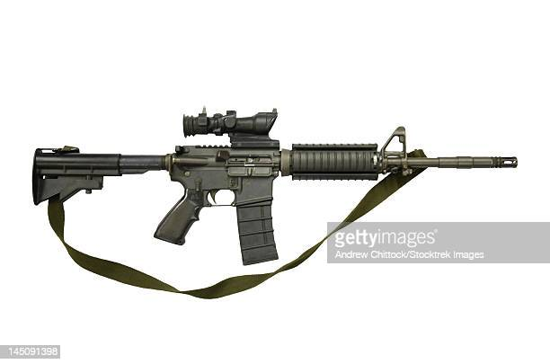 CB 5.56mm Canada, assault carbine copy of colt Commando.
