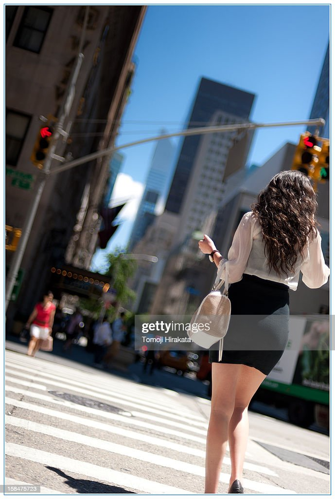55th and 6th Avenue New York : Stock Photo