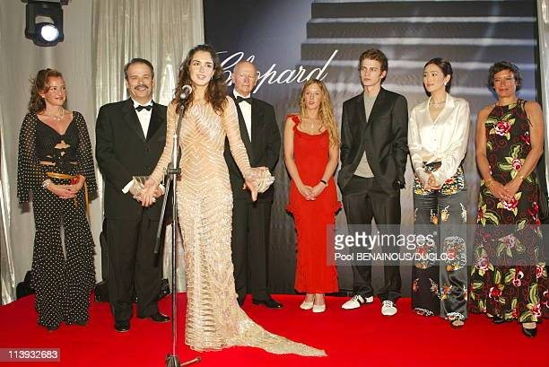 55th Cannes Film Festival Chopard Trophy At The Majestic Hotel In Cannes France On May 17