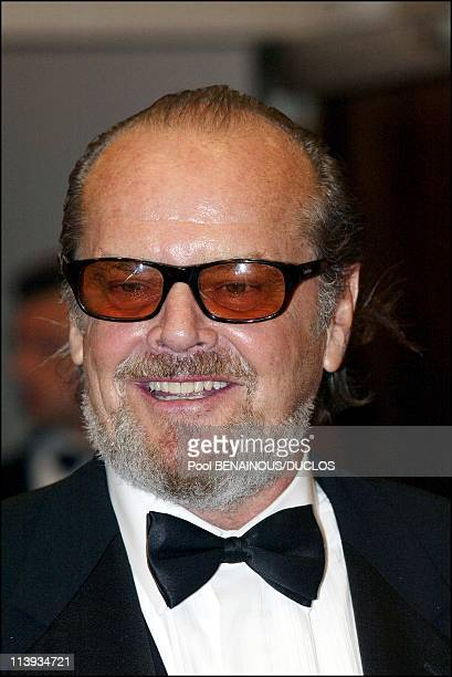 "55th Cannes film festival: Screening of ""About Schmidt"" with Jack Nicholson In Cannes, France On May 22, 2002-Jack Nicholson."