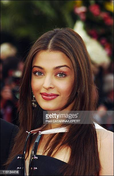 56th Cannes Film Festival Stairs of 'The Matrix reloaded' in Cannes France on May 15 2003 Aishwarya Rai