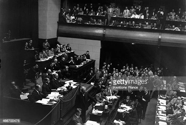 56th session of the League of Nations on September 4 1929 in Geneva Switzerland