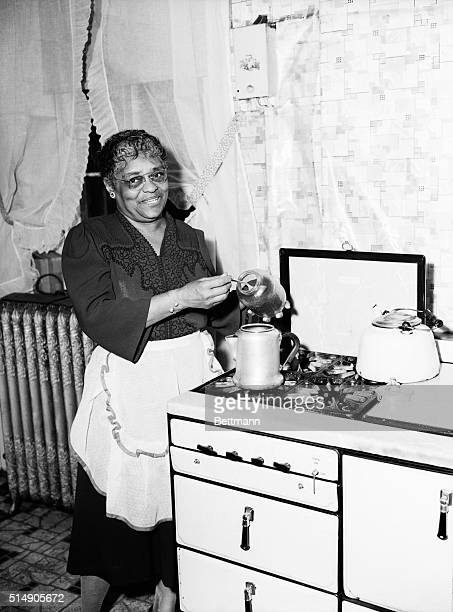 5/7/1946Louisville KY Mrs Emma Clement is the first Negro to be named an American Mother One son Dr Rufus E Clement is President of Atlanta...