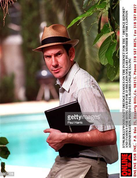 Hollywood Matt Drudge famous for The Drudge Report on the internet and famous for being sued for $ 33 million dollars by a member of the Clinton...
