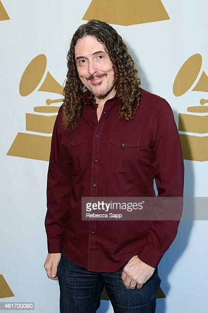 57th Annual GRAMMY Awards nominee Al Yankovic attends Los Angeles GRAMMY Nominee Celebration LA Chapter on January 17 2015 in West Hollywood...