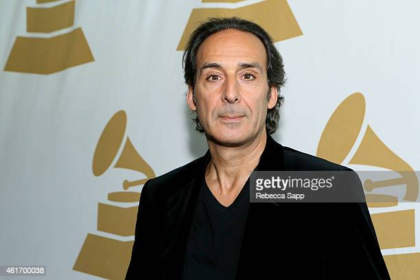 57th Annual GRAMMY Awards nominee Alexandre Desplat attends Los Angeles GRAMMY Nominee Celebration LA Chapter on January 17 2015 in West Hollywood...
