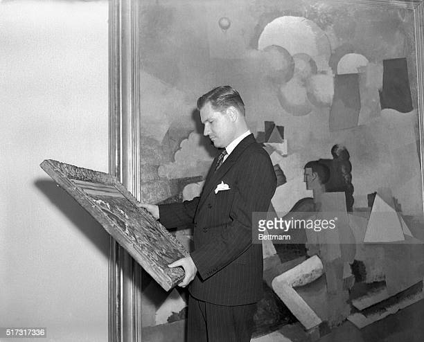 5/8/1939New York City Nelson A Rockefeller who was elected as president of the Museum of Modern Art at a meeting of the Board of Trustees May 8th...