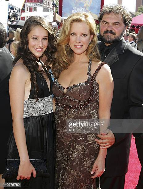 THE 58th ANNUAL PRIMETIME EMMY AWARDS Pictured Anna Perkins Elizabeth Perkins and Julio Macat arrives at The 58th Annual Primetime Emmy Awards at the...