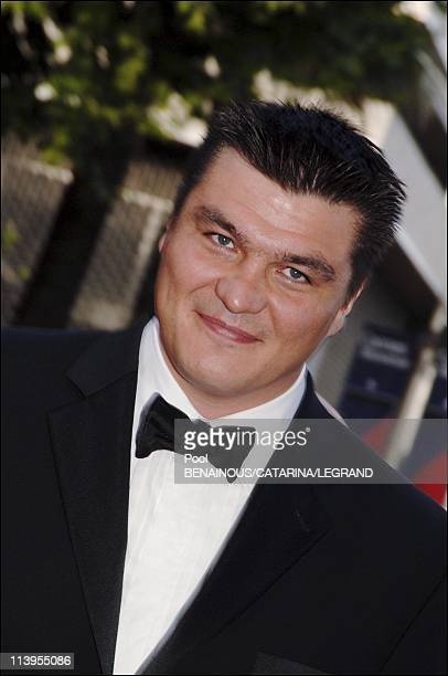 58th Cannes Film Festival Arrivals at the closing ceremony In Cannes France On May 21 2005David Douillet