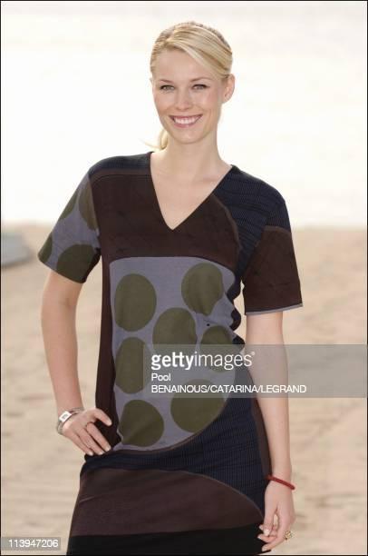 58th Cannes Film Festival Closeup of Kiera Chaplin In Cannes France On May 12 2005Kieara Chaplin will appear on horseback to promote Lady Godivaback...