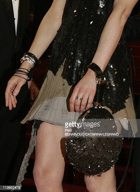 58th Cannes Film Festival Illustration Fashion on the red carpet in Cannes France On May 18 2005Asia Argento