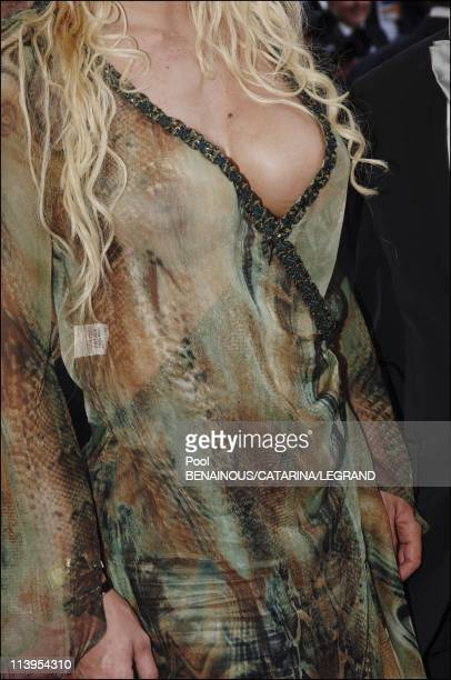58th Cannes Film Festival Illustration Fashion on the red carpet In Cannes France On May 20 2005Loana
