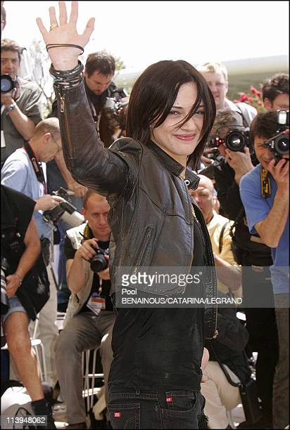 58th Cannes Film Festival Photocall of Last days In Cannes France On May 13 2005Asia Argento