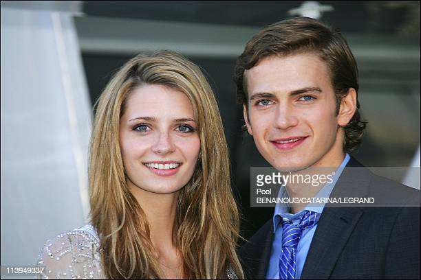58th Cannes Film Festival PhotoCall of The Decameron In Cannes France On May 14 2005Mischa Barton Hayden Christensen