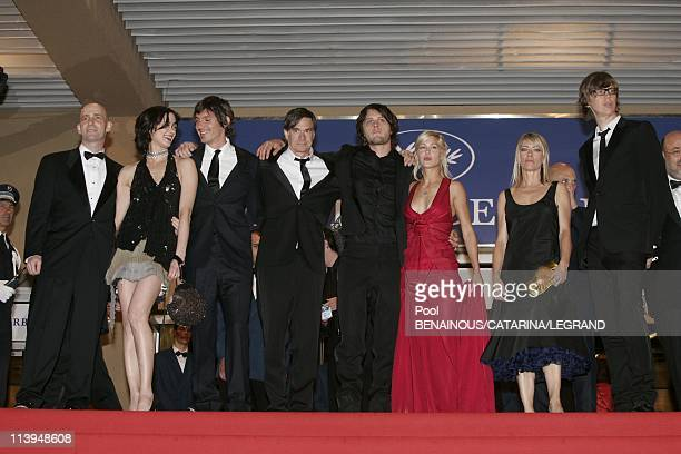 58th Cannes Film Festival Stairs of ' Last days' In Cannes France On May 13 2005Cast of ' Last days' American actor Lukas Haas Italian actress Asia...
