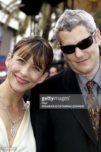 58th Cannes Film Festival Stairs of ' Where the truth lies' In Cannes France On May 13 2005Sophie Marceau and her boyfriendSophie Marceau dressed by...