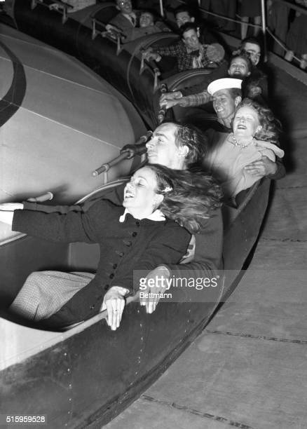 5/9/1940Palisades New Jersey It takes the 1/100000th of a second photographic speed of the speedray to catch the fleeting expressions on the faces of...