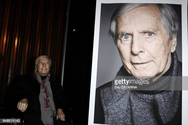 59th Berlinale Berlin International Film Festival French Composer Maurice Jarre awarded in Berlin with a Golden Bear as a Lifetime achievement career...
