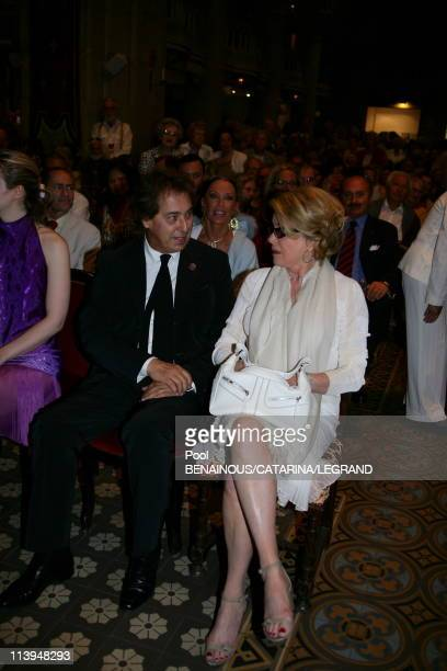 59th Cannes Film Festival Catherine Deneuve at the screening of 'Antonio Vivaldi' at the Church Mont Voyage in Cannes France on May 21 2006Gilles...