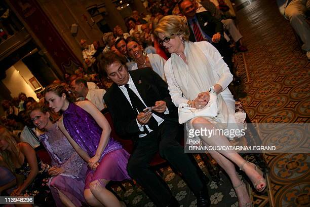 59th Cannes Film Festival Catherine Deneuve at the screening of 'Antonio Vivaldi' at the Church Mont Voyage in Cannes France on May 21 2006Delphine...