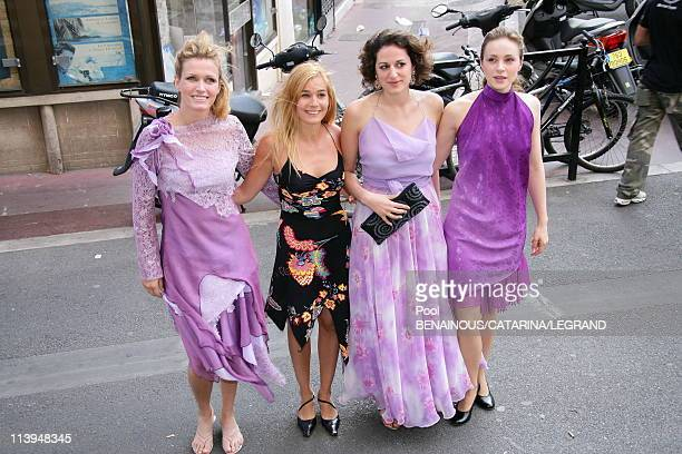 59th Cannes Film Festival Catherine Deneuve at the screening of 'Antonio Vivaldi' at the Church Mont Voyage in Cannes France on May 21 2006Crew of...