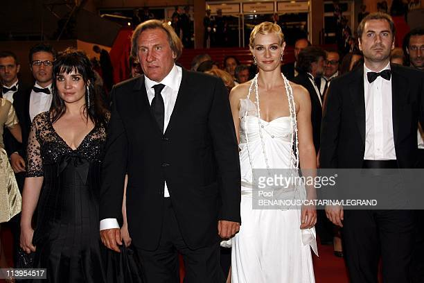 59th Cannes Film Festival End of the screening of Quand j'etais chanteur in Cannes France on May 26 2006Actress Cecile de France actor Gerard...