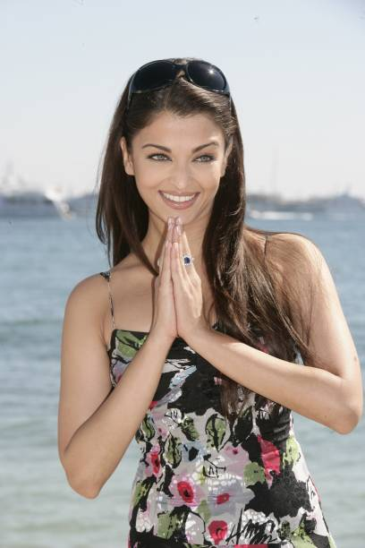 59th Cannes Film Festival photo call of 'Provoked' with Aishwarya Rai in Cannes France On May 19 2006Actress Aishwarya Rai at the Noga Beach