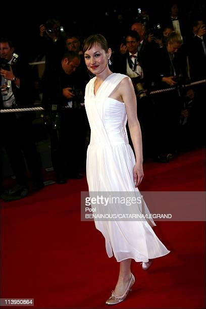 59th Cannes Film Festival stairs of Flandres in Cannes France on May 23 2006Adelaide Leroux