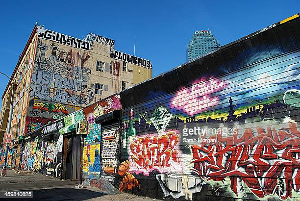 CONTENT] 5Pointz was an outdoor art exhibit space in Long Island City in Queens New York considered to be the world's premiere graffiti mecca where...