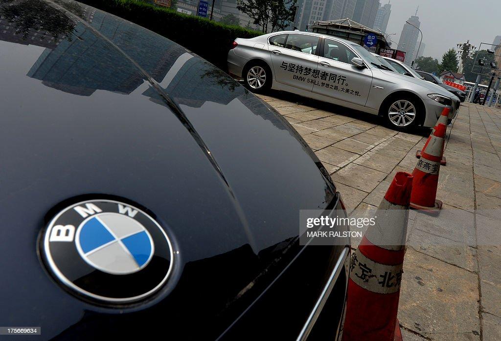 CHINA-GERMANY-AUTOMOBILE-RECALL : News Photo