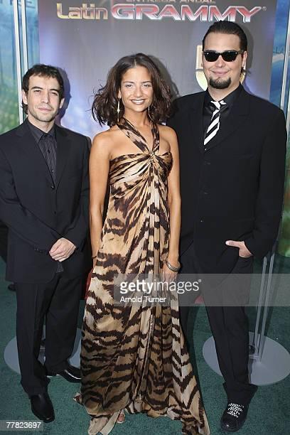 5ta Estacion arrives at the 8th Annual Latin GRAMMY Awards at Mandalay Bay on November 8, 2007 in Las Vegas, Nevada.