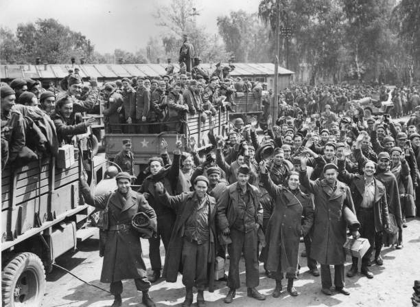 Liberated Prisoners Pictures   Getty Images