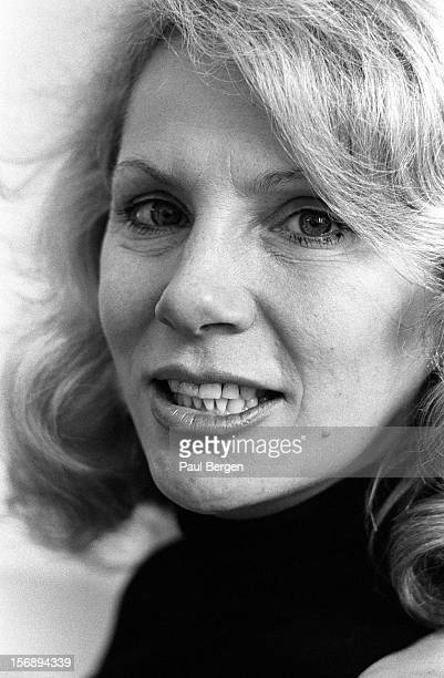 American model actress singer and exwife of David Bowie Angela Bowie posed in Amsterdam Netherlands on 5th April 1993