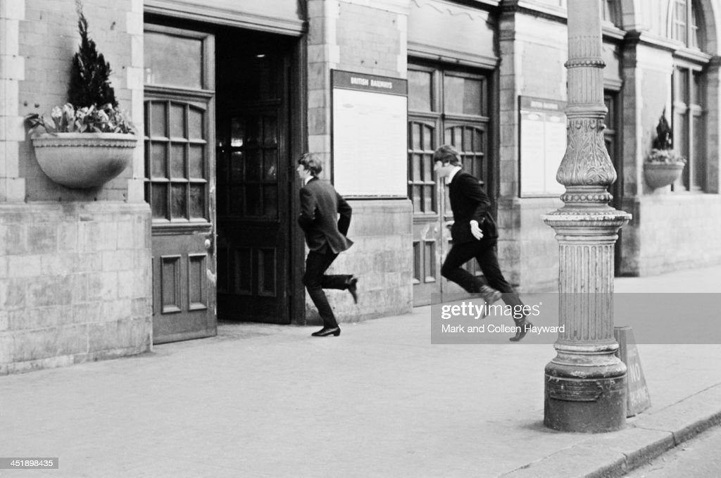 The Beatles Film 'A Hard Day's Night' : News Photo