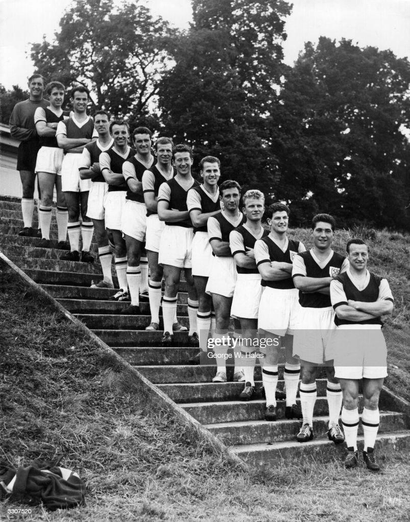 West Ham 1958 : News Photo