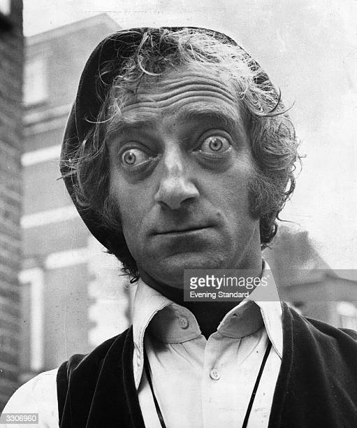 TV and Film Comedian Marty Feldman with characteristic popeyed look