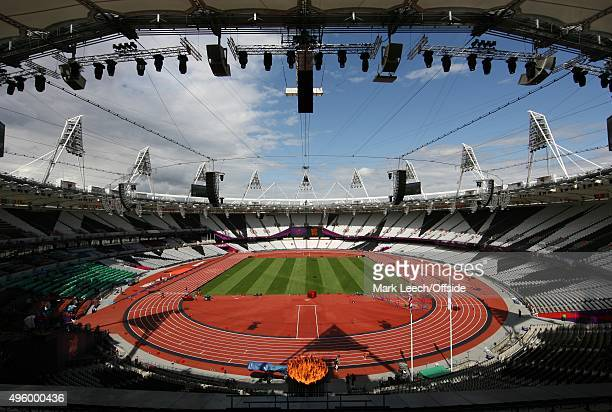5th August 2012 London 2012 Olympic Games A general view of the Olympic Stadium