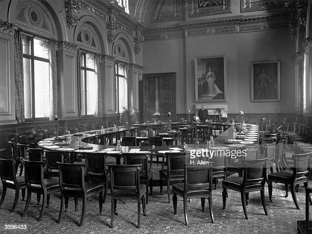 The Locarno room in the Foreign Office in London
