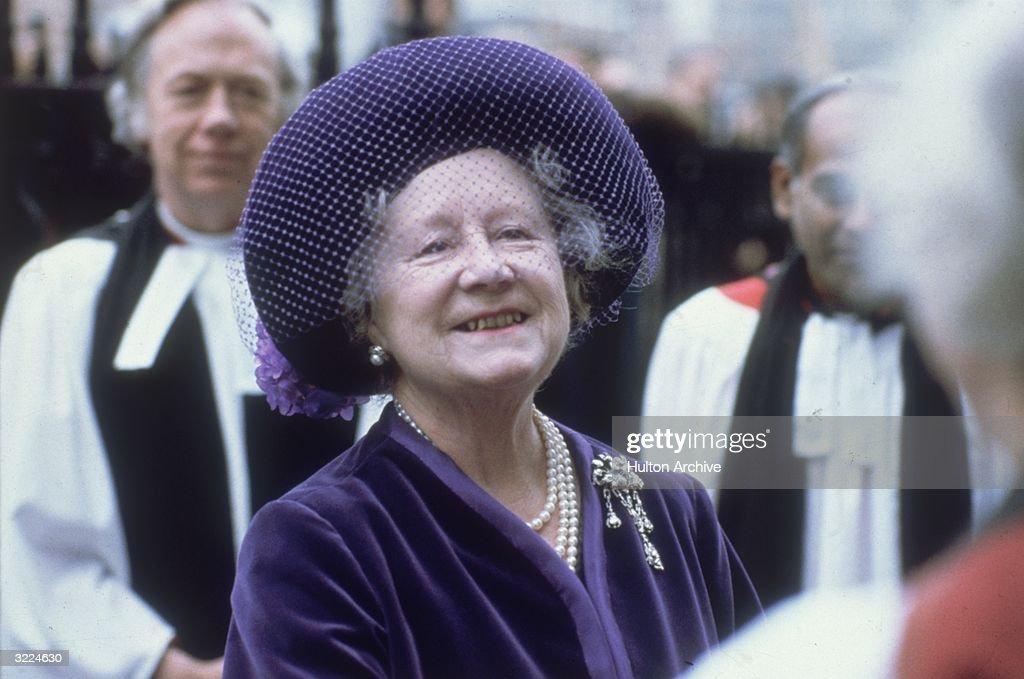 HRH Queen Mother : News Photo
