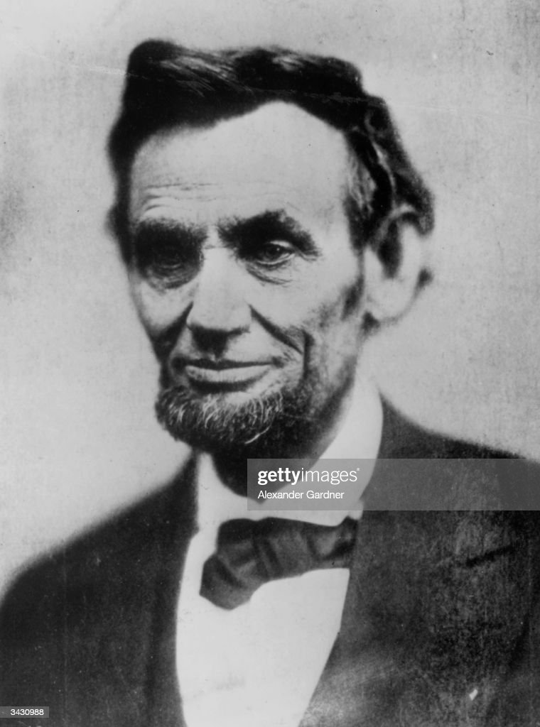 Abraham Lincoln (1809 - 1865), the 16th president of the United States in the year of his assassination.