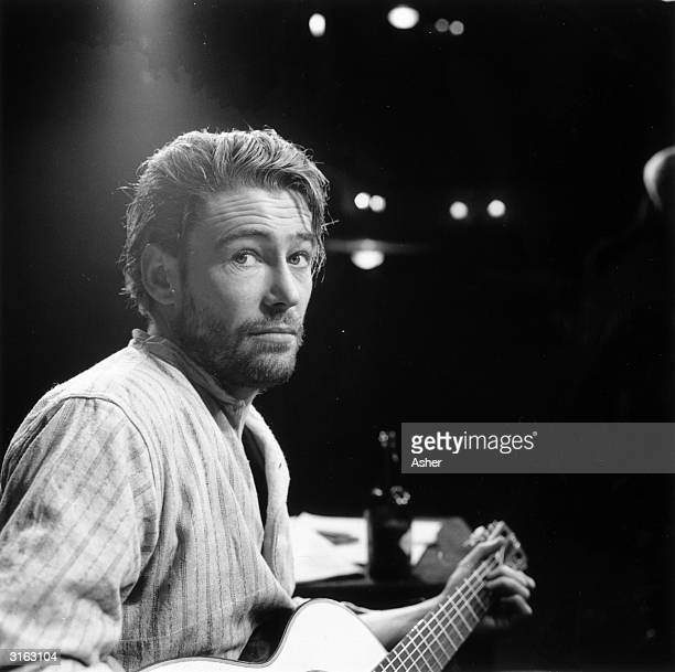 Irish actor of stage and screen, Peter O'Toole, in the play 'Baal'.