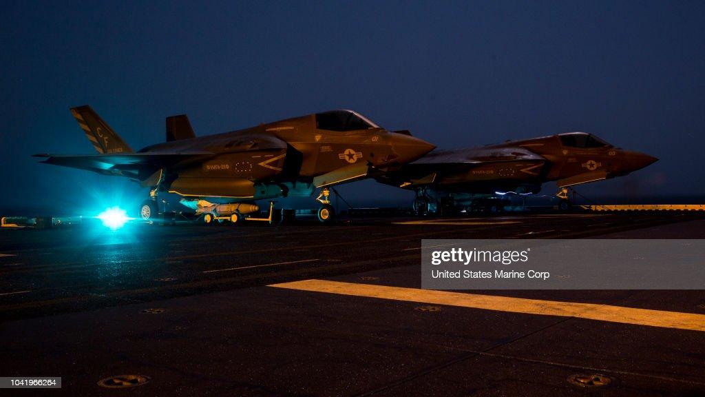F-35B Lightning II- Ready to Strike : News Photo