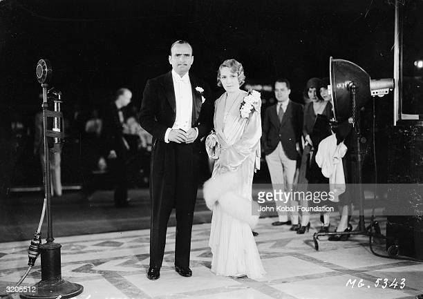 Canadian actress Mary Pickford with her husband silent star Douglas Fairbanks