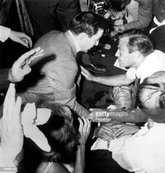Kennedy Floor Covering Carpet Gallery: 5th June 1968, Senator Robert F, Kennedy Lies On The Floor