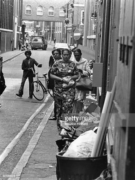 Bengali women in Brick Lane East London