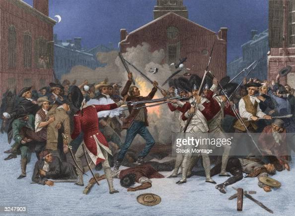 how to draw the boston massacre