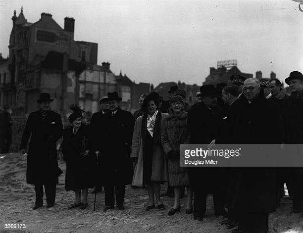 After they signed the Anglo-French Treaty of Alliance at Dunkirk, the British foreign secretary Ernest Bevin and the French statesman and foreign...