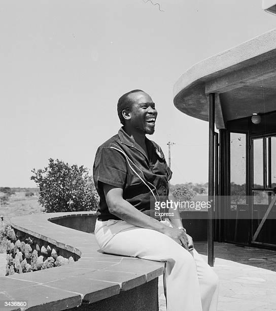 Seretse Khama the Prime Minister of Bechuanaland later Botswana