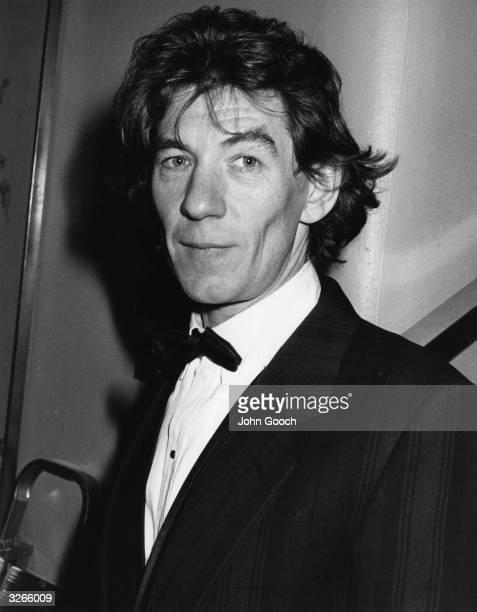 Actor Ian McKellen attending the BAFTA Awards ceremony at the Grosvenor Hotel in London