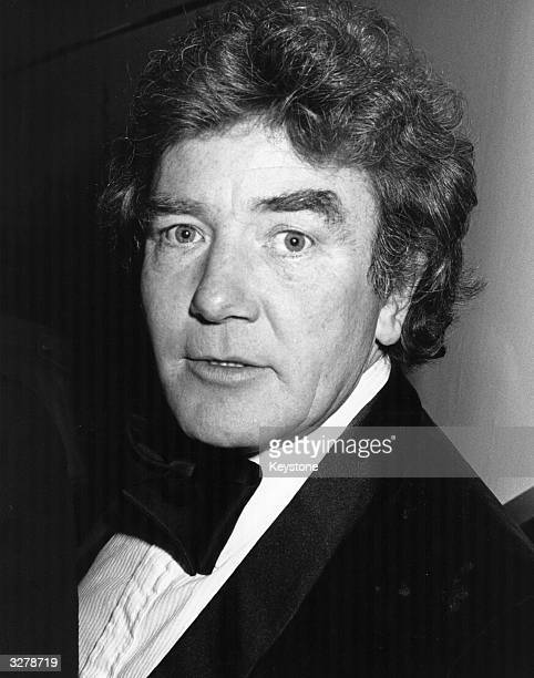 British actor Albert Finney at the BAFTA award ceremony